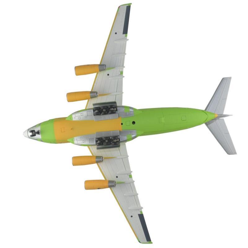 110 送大运吉祥物中国运20运输机 合金成品模型 合金静态运20飞机模型