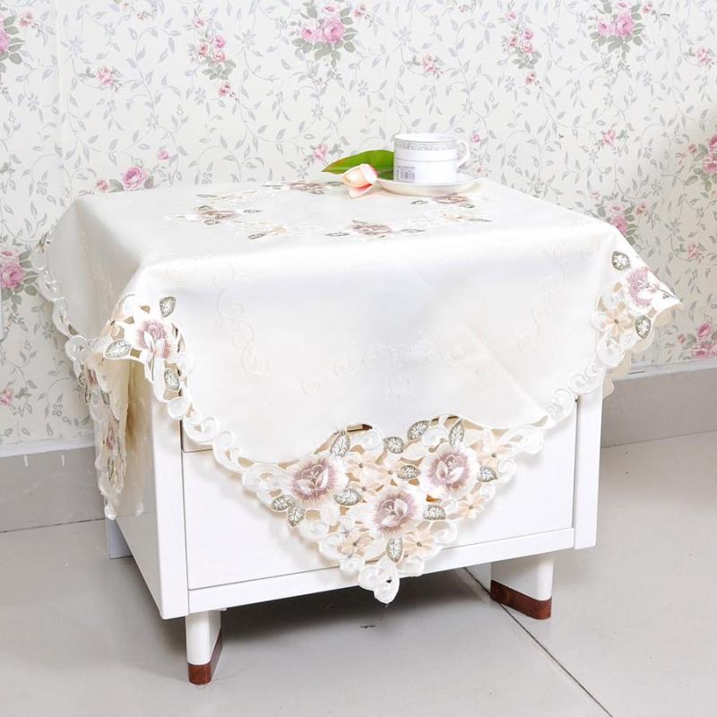 欧式田园布艺桌布茶几餐桌椅套套装坐垫盖巾茶几垫万能小方巾 五号款