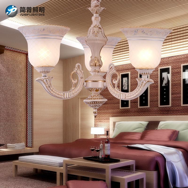 簡普歐式家居家裝燈具吊燈簡約歐式吊燈現代歐客廳吊燈led歐式燈客廳