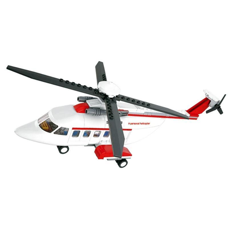 儿童玩具积木 家庭专用直升飞机