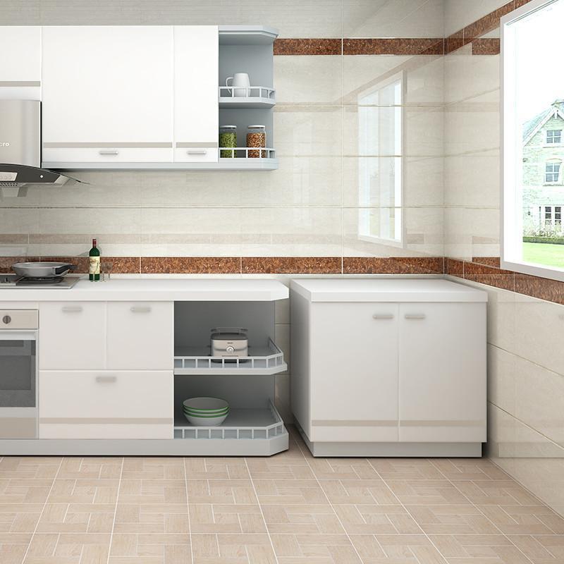 楼兰瓷砖 厨卫墙砖 厨房卫生间墙面砖抛光砖建材现代风格仿古砖 纳福
