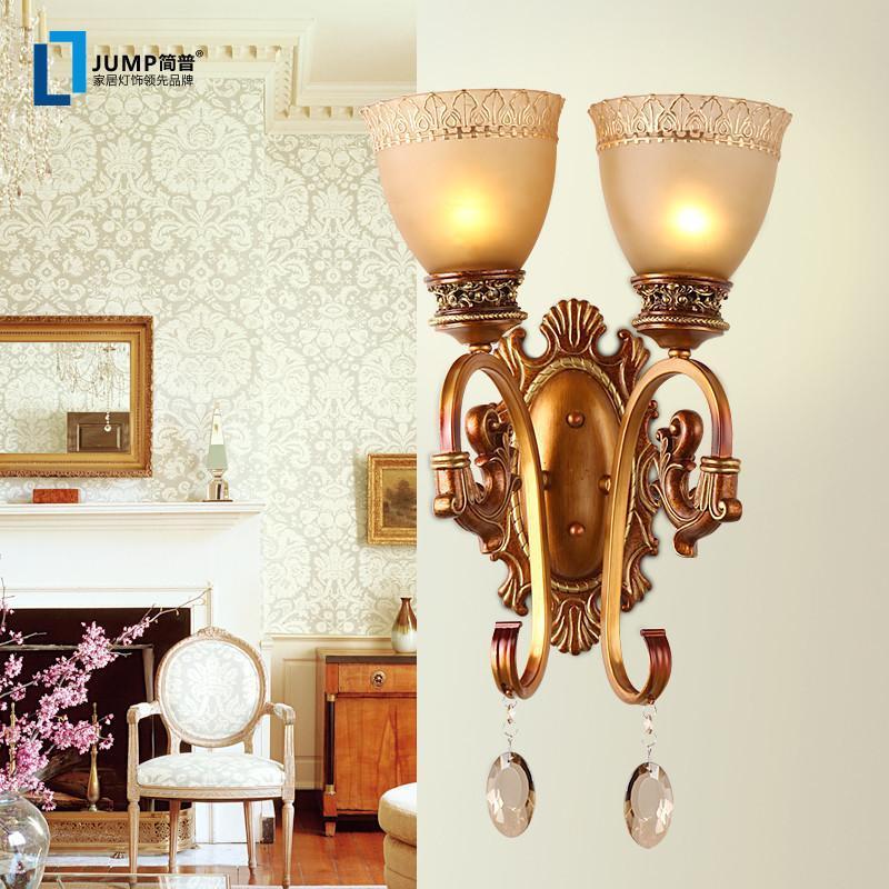 【简普】简普欧式家居家装灯具装饰灯欧式壁灯复古墙