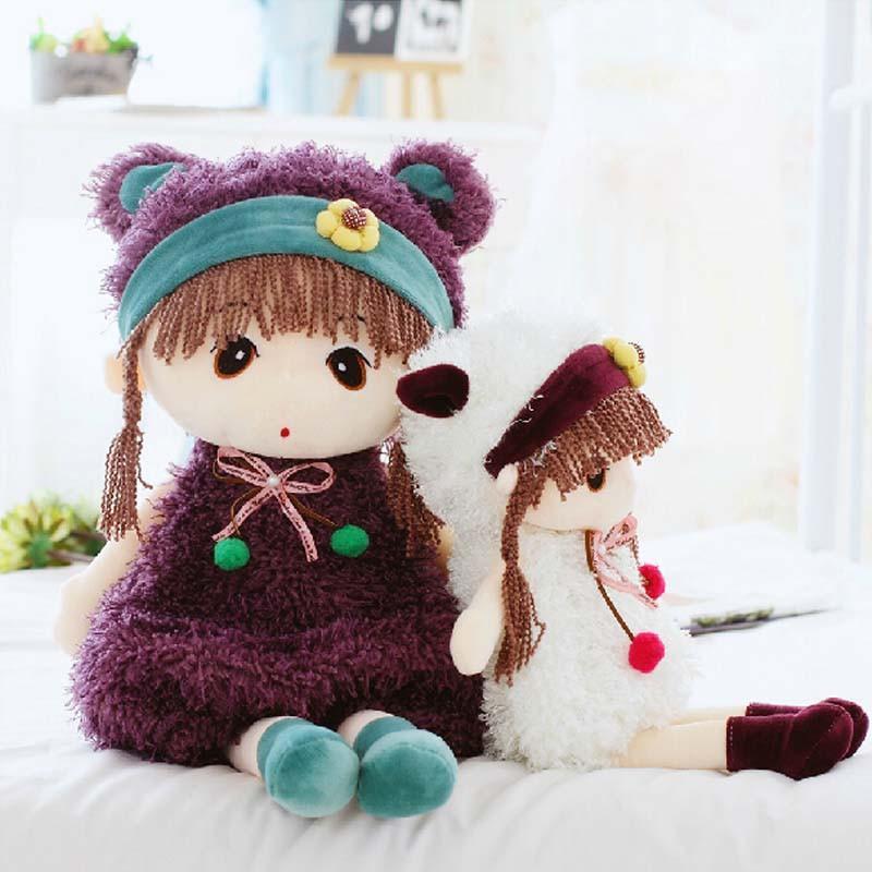 百变菲儿公主娃娃毛绒玩具公仔可爱洋娃娃布娃娃儿童