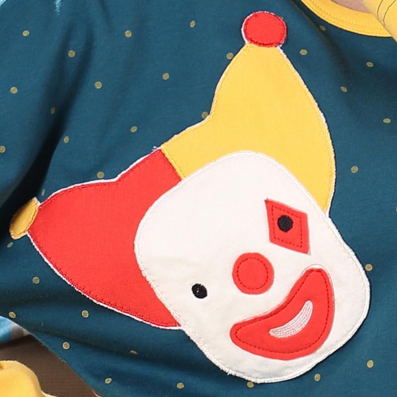 春秋季卡通长袖纯棉亲子睡衣秋天可爱亲子母女人套装家庭装家居服.