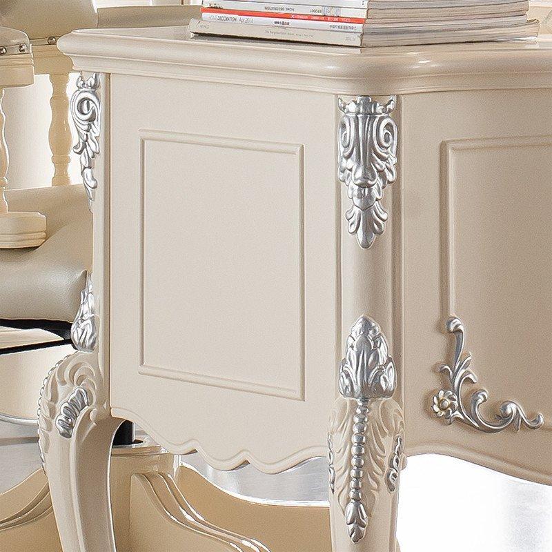 【法丽莎家居】法丽莎家具g2欧式书桌实木雕花电脑桌