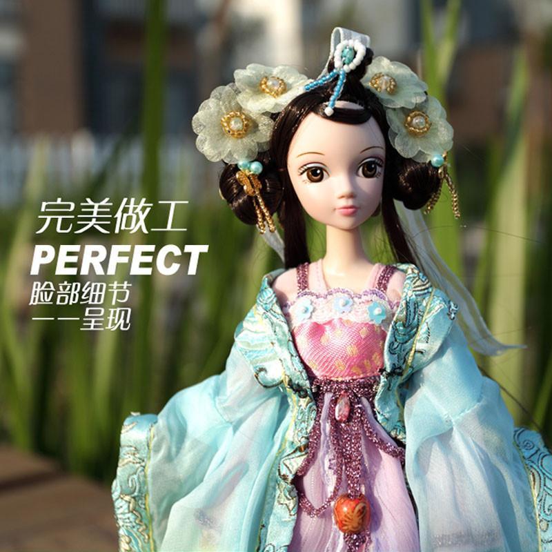 可儿娃娃古代发型分享展示图片