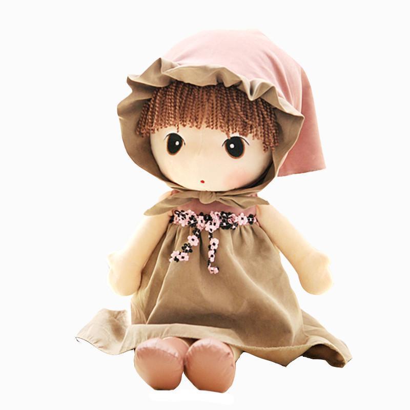 沐祺母婴专营店 绒言绒语毛绒玩偶 童话菲儿可爱布娃娃.