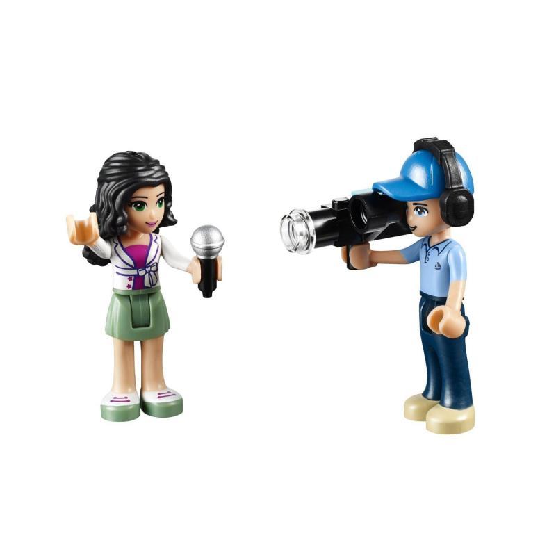 lego 乐高 friends 好朋友系列 女孩系列 41056 心湖新闻转播车 乐高