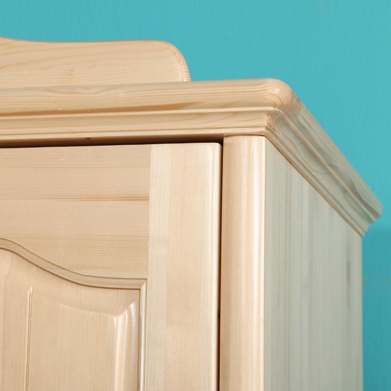 木质儿童衣柜 松木大衣柜