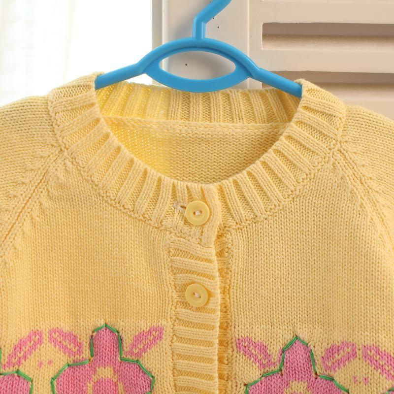 [精品]十多个漂亮的儿童毛衣花样编织图案
