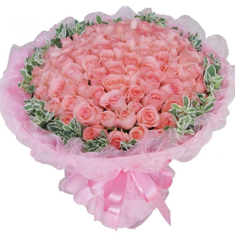 99枝玫瑰花束