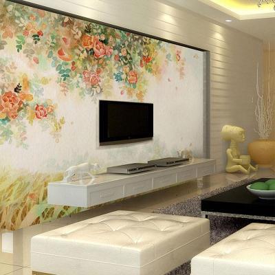电视背景墙客厅影视墙