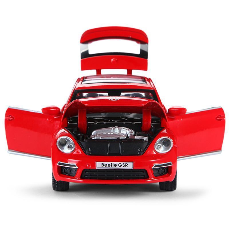 豪华汽车车模玩具 甲壳虫