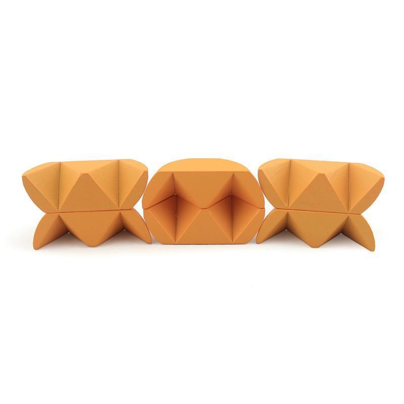 米米智玩 儿童木制益智玩具 孔明锁鲁班锁 亲子互动成人智力玩具【木
