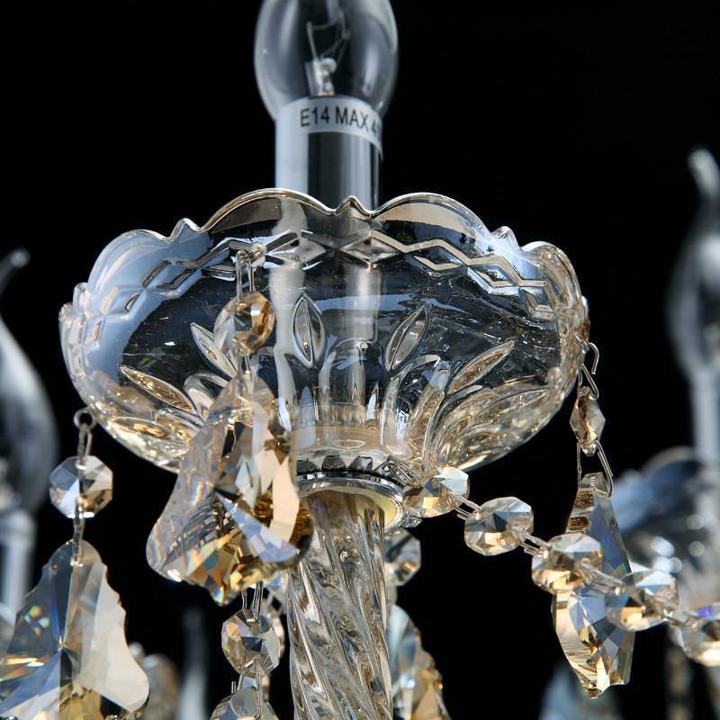 尊阁简欧欧式水晶灯餐灯 别墅客厅大厅客厅水晶吊灯现代简约z002 标准