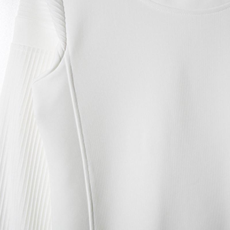 潮庭2014秋冬新款欧美时尚立体绗缝纯色百搭卫衣