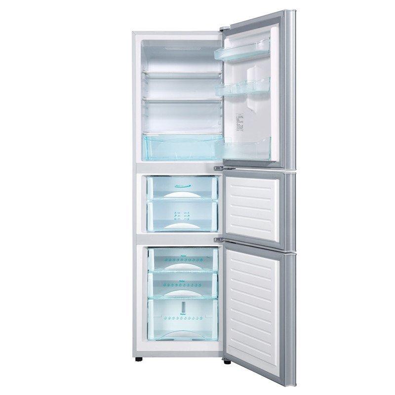 海尔 haier bcd 216sdn 216升 三门冰箱 高清图片