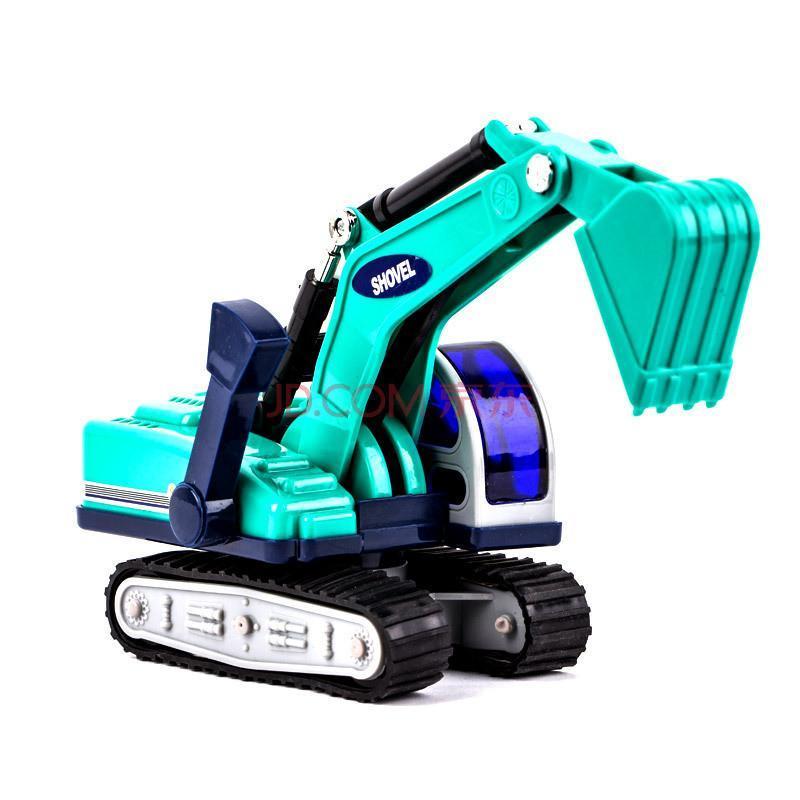 手动工程车挖土机挖掘机男孩礼物儿童玩具车模型铲