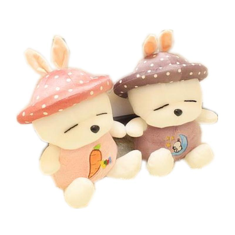 可爱带帽流氓兔公仔抱枕布娃娃玩偶生日礼物男生女生毛绒玩具特价p