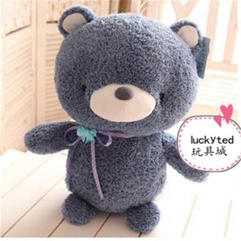 可爱小兔子情侣泰迪熊毛绒玩具公仔 娃娃玩偶 生日礼物p 棕熊大号