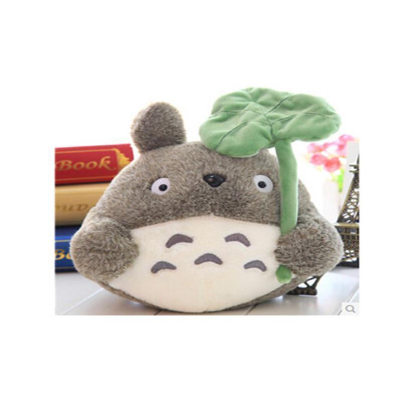 龙猫公仔 毛绒玩具 卡通可爱猫猫宫崎骏布娃娃生日礼物送女友 kl 灰色