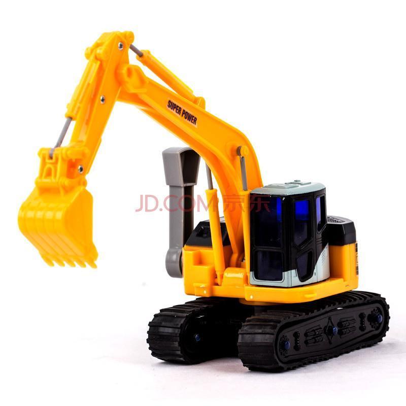 手动工程车挖土机挖掘机男孩礼物儿童玩具车模型铲车
