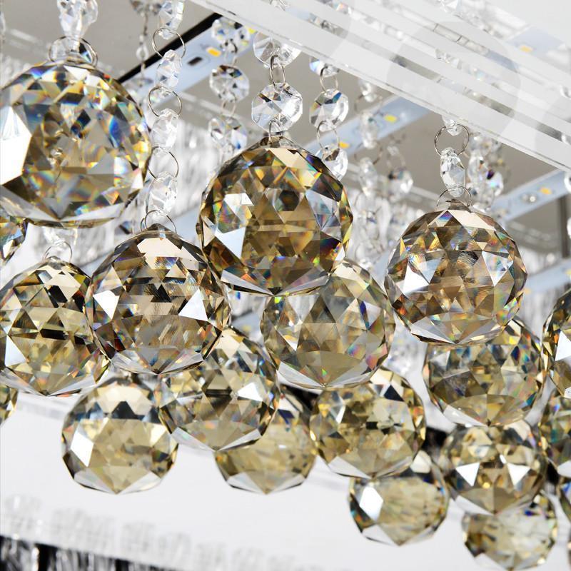 led吸顶灯客厅水晶灯长方形灯具灯饰卧室灯欧式客厅