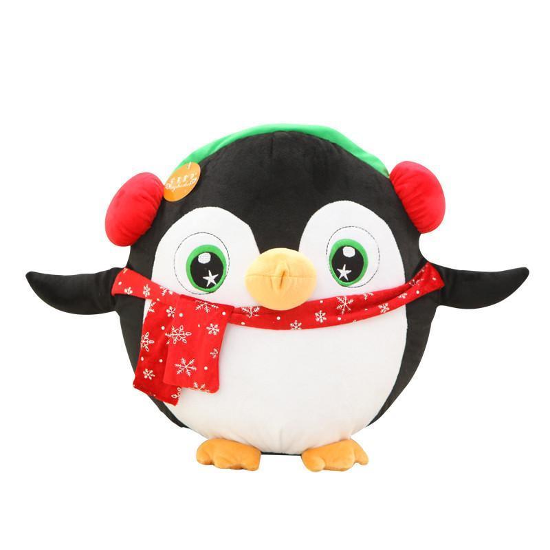 企鹅音乐公仔娃娃毛绒玩具