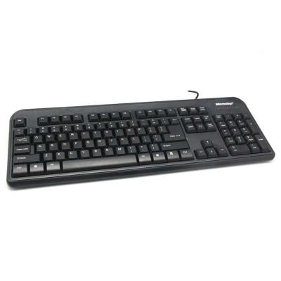 微步F2灵巧时尚键盘PS2黑色