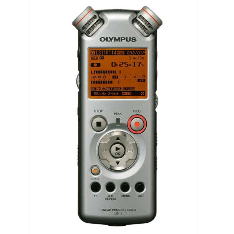 奥林巴斯 微型数码 录音机 ls-11 (8g)图片