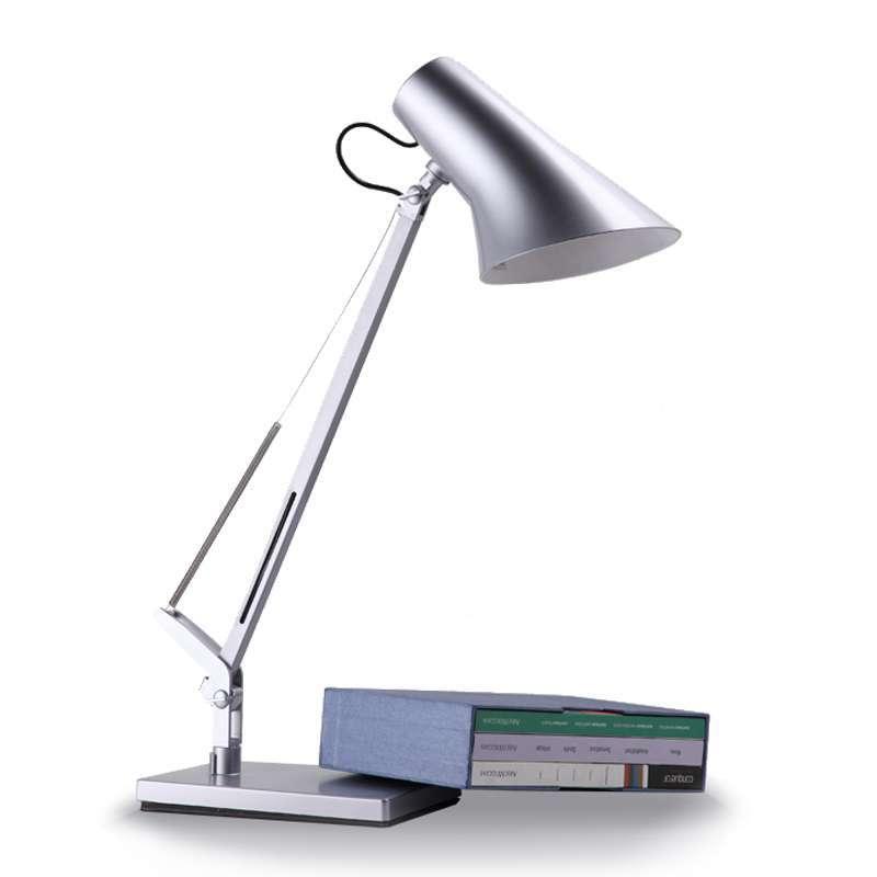 开林 经典办公系列台灯hl-b5202银白图片