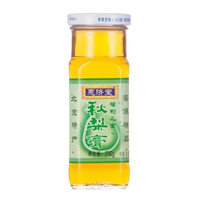 恩濟堂 沖調 兒童秋梨膏(8個月以上以上幼兒適用)290g/瓶 國產