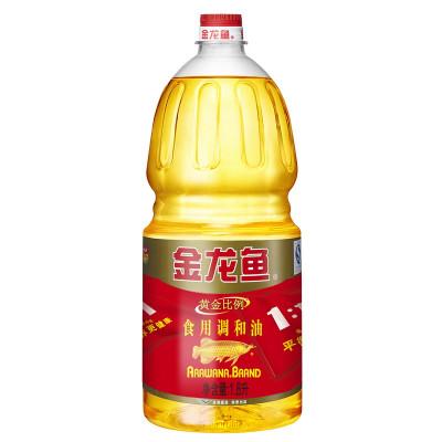 金龙鱼 黄金比例调和油 1.8L