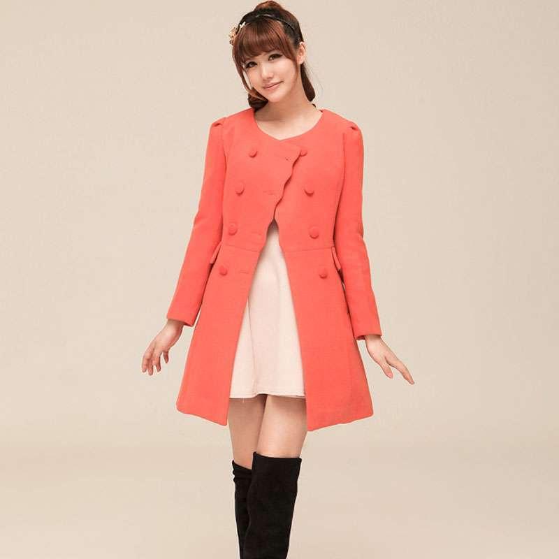 nitotic 2013新款球冬季女装 韩版修身呢子大衣外套xnr8003