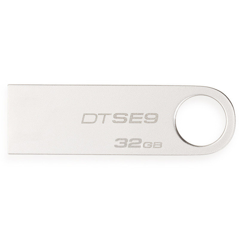 金士顿(Kingston)DTSE9 32GB U盘 (银灰)