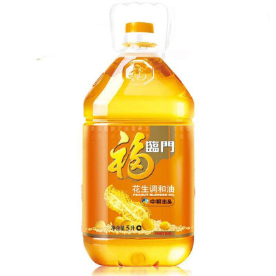 福临门 花生原香食用调和油 5L