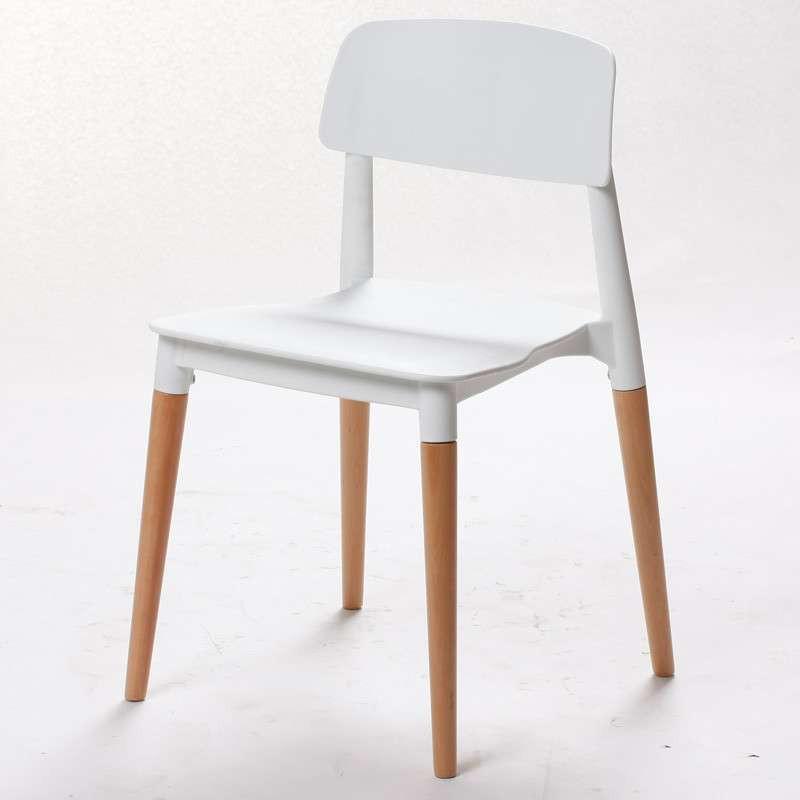 霍客森才子椅 餐椅 设计师椅子时尚 实木低背 欧式休闲椅子创意