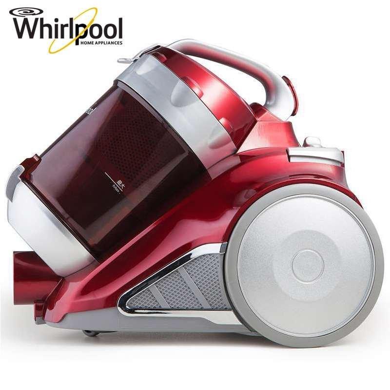 惠而浦(Whirlpool)无耗材卧式吸尘器WVC-HT1603K 除螨洁净 全水洗集尘系统 红色