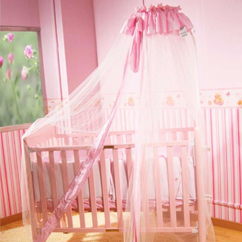 公主豪华蚊帐适用所有婴儿床