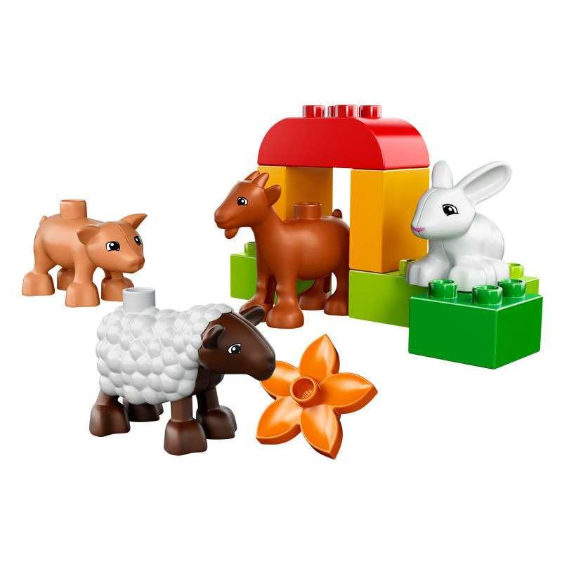 lego 乐高 农场小动物 l10522