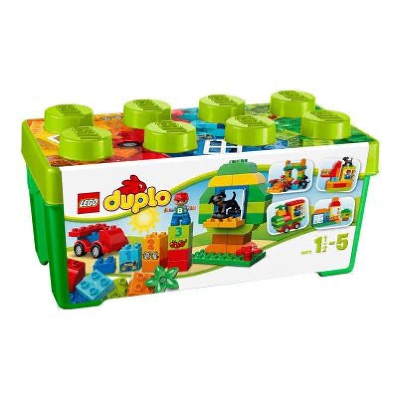 LEGO 乐高 Duplo 得宝系列乐高®得宝®多合一趣味桶 10572