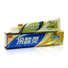 冷酸灵双重抗敏感牙膏 冰柠檬薄荷 劲爽牙膏 170g