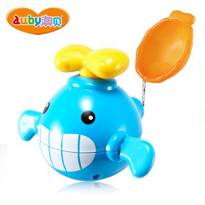 澳贝AUBY 沐浴系列 调皮鲸鱼1-3岁 戏水玩具 463506DS