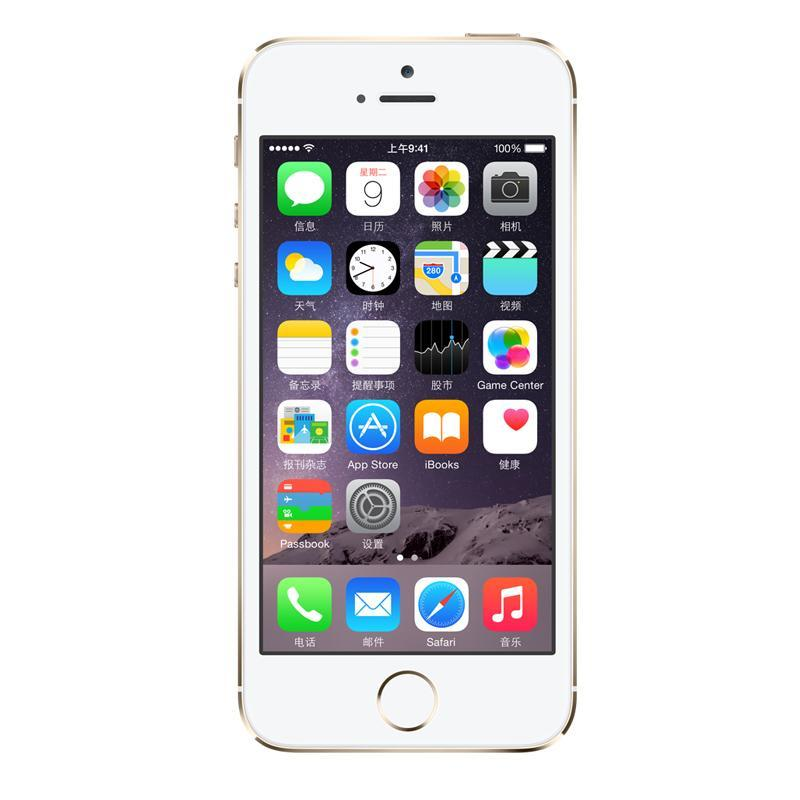 Apple iPhone 5s (16GB)(金色)4G手机(公开)