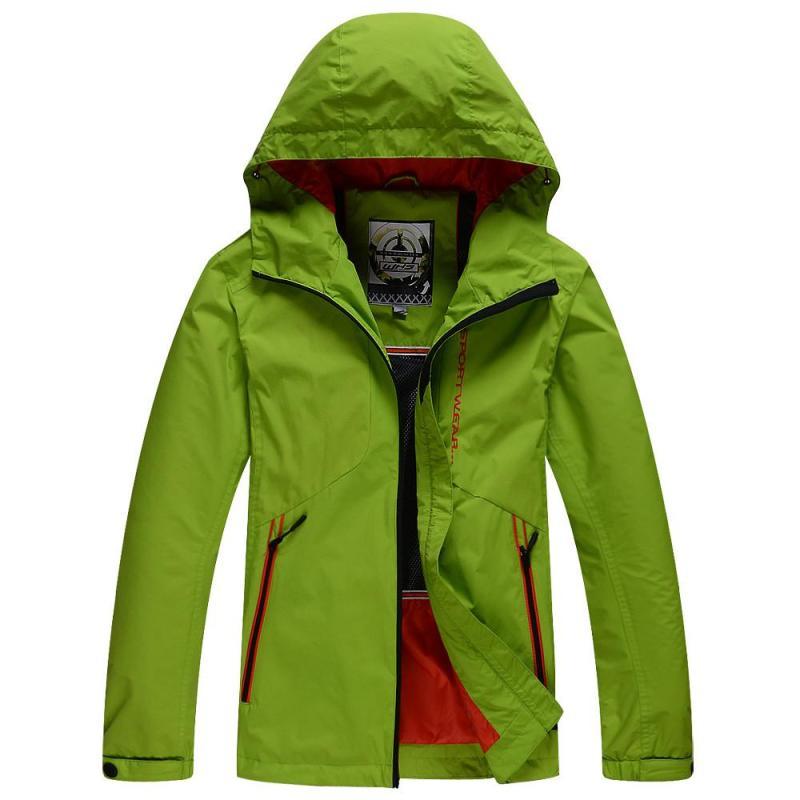 春秋款 男士 冲锋衣 户外 时尚休闲 风衣 3645220 浅绿色 s 浅绿色 l