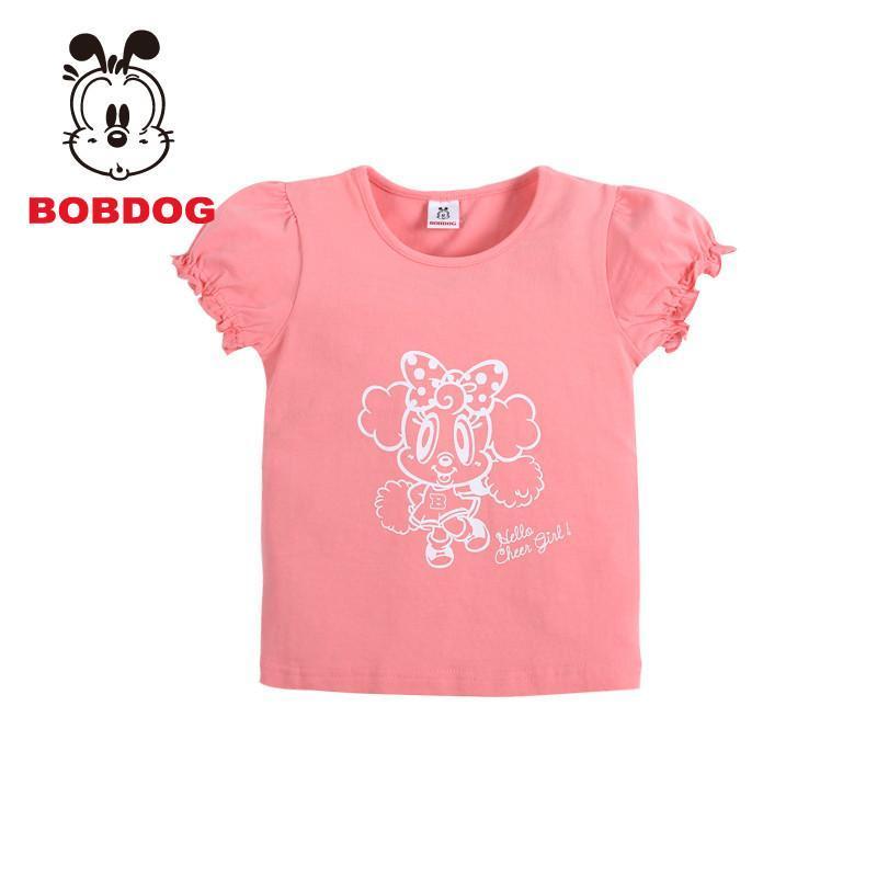 2014夏装新款女童宝宝短袖t恤儿童纯棉打底衫中小童衣服可爱小公主t恤