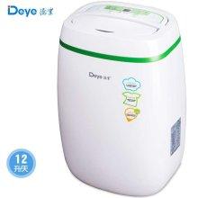 德业(DEYE)家用除湿机 DYD-E12A3 绿色 节能抽湿机 12升/天 干衣+除
