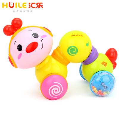 匯樂玩具(HUILE TOYS)爬行小蟲 997 嬰幼兒寶寶學步爬親益智早教音樂玩具