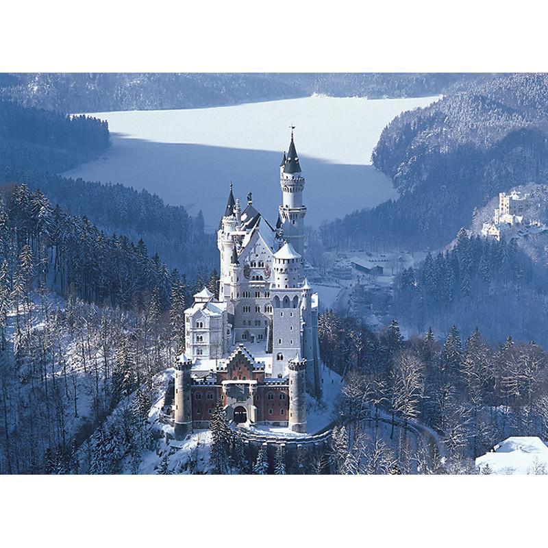 益智高档风景拼图4000片 风景油画 装饰画 古堡