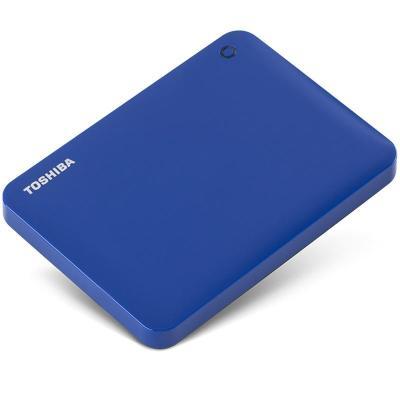 东芝移动硬盘 CANVIO CONNECTⅡ 1.0TB蓝色